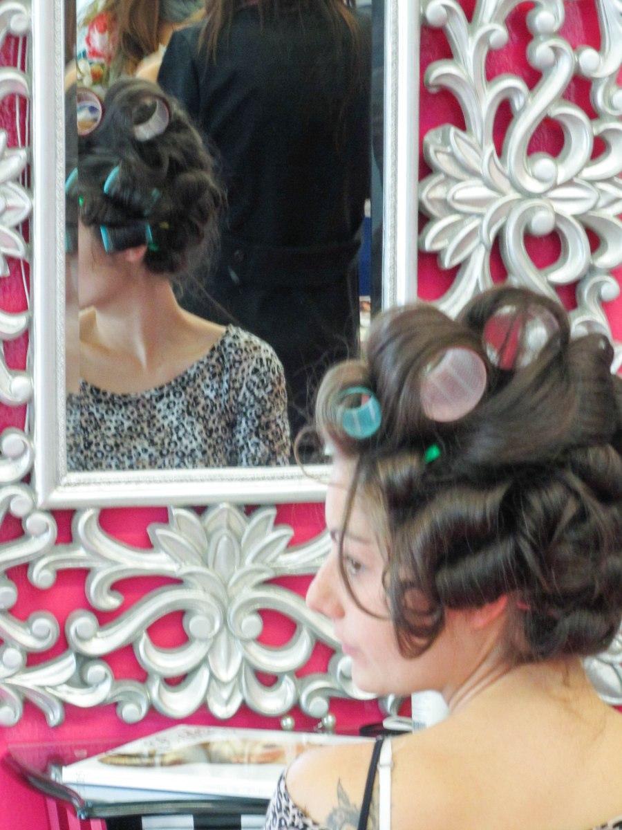 peinados novia burgos