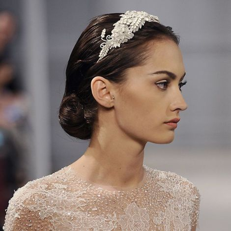 Monique Lhuillier Bride - Show por Fernanda Calfat en Getty