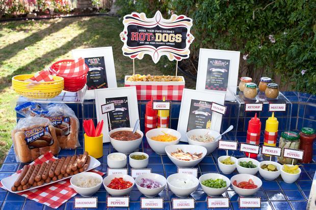 estacion de hot dogs