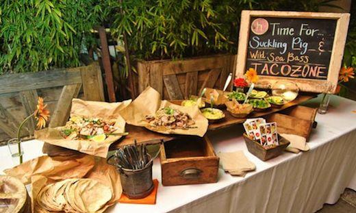 buffet de tacos