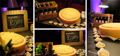 mesa de risotto