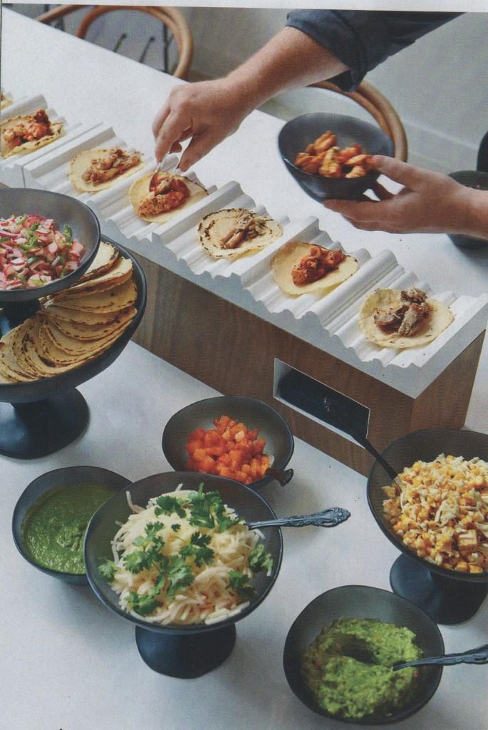Mesas buffet para sorprender burgos nupcial for Comidas para sorprender