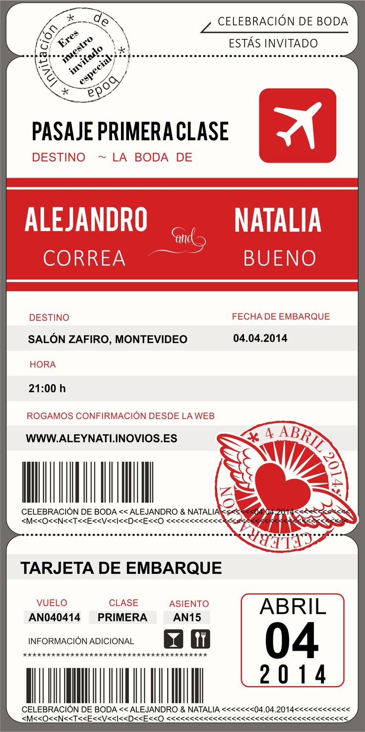 Pinterest. Invitaciones originales