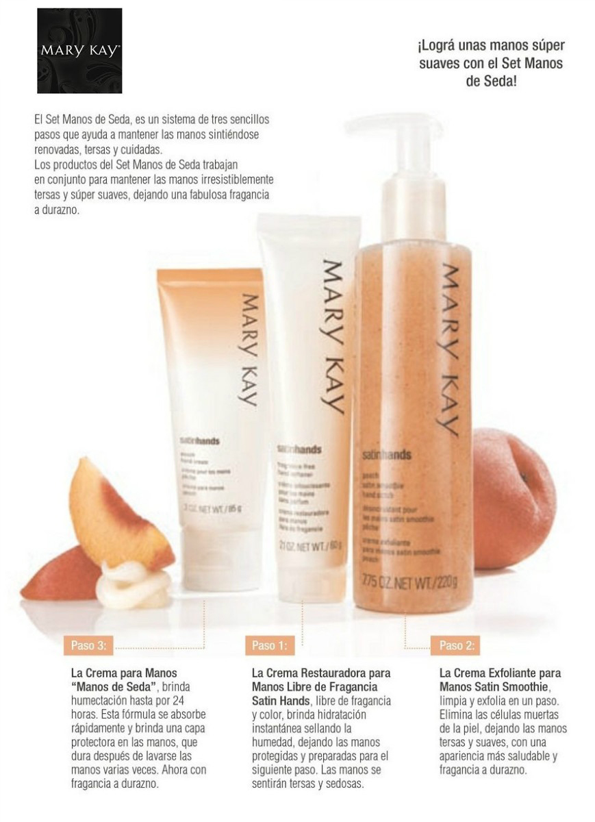 set de manos mary kay