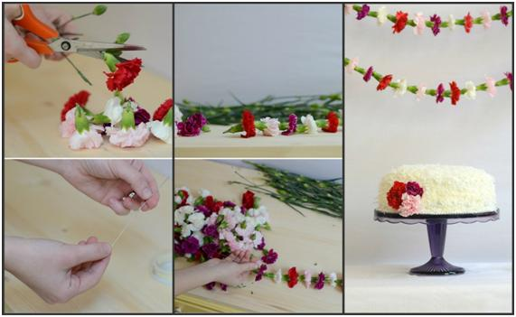 http://www.weddingchicks.com/2014/02/12/diy-flower-garland/