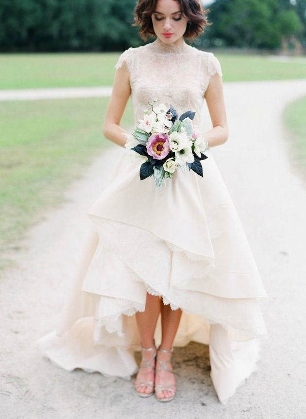 Vestidos de novia que disimulan la panza