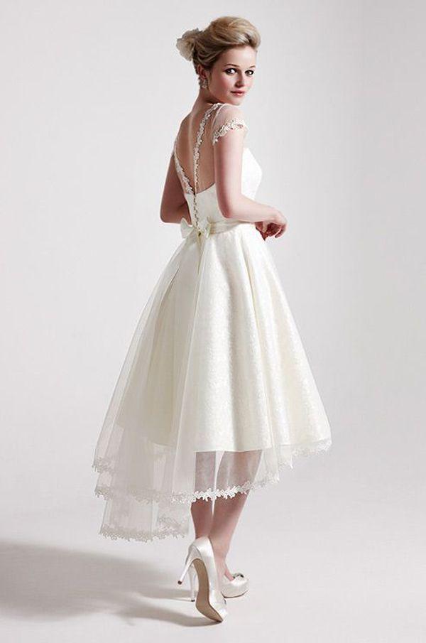Vestido de novia me queda corto