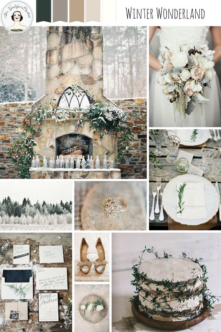 Favores de la boda de invierno