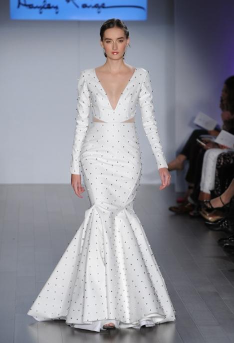hayley-paige-leather-studded-mermaid-wedding-dress22