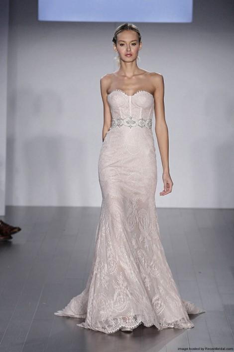 Lazaro-Fall-2015-blush-lace-corset-mermaid-wedding-dress