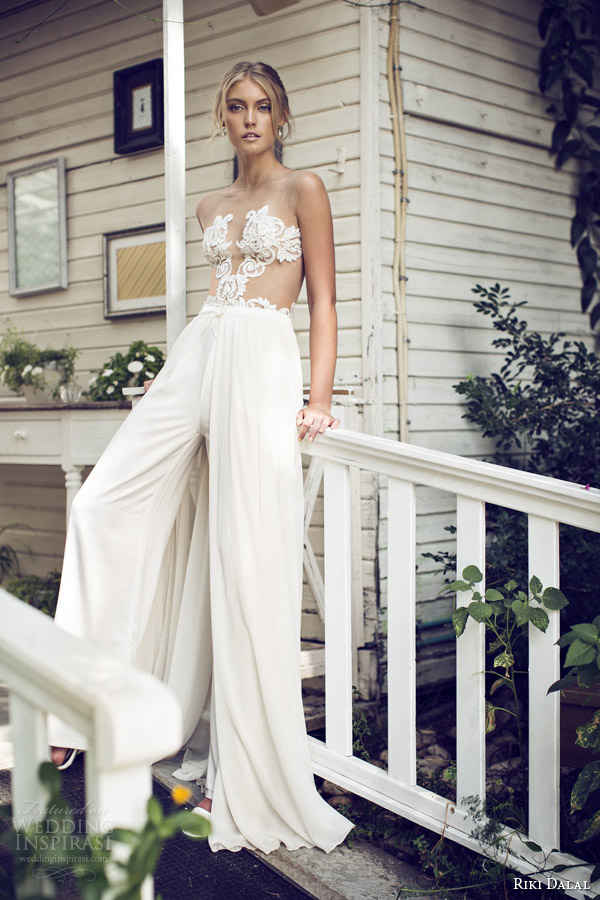 riki-dalal-bridal-2015-sexy-wedding-dress-pants