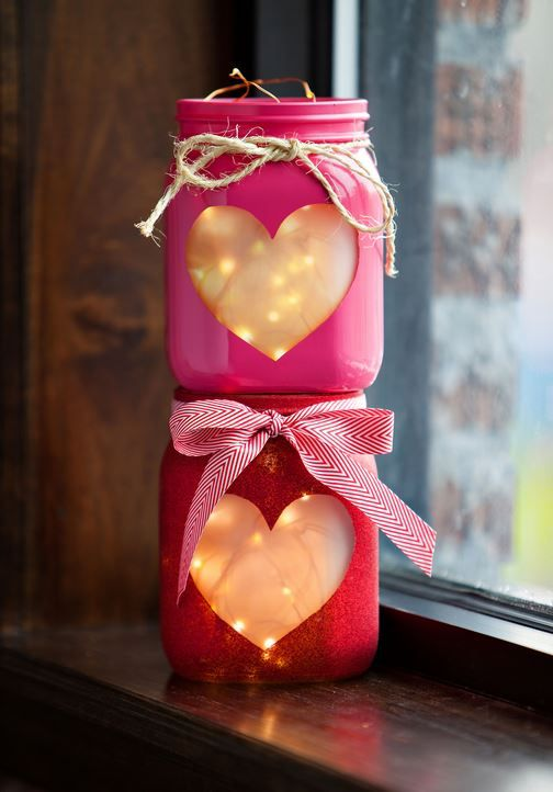 velas de corazón