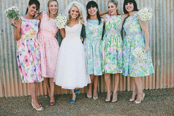 1cd2fb8b21e4a 10 ideas de vestidos florales para damas de honor – Burgos Nupcial