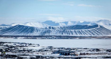 Hverfjall volcano Iceland