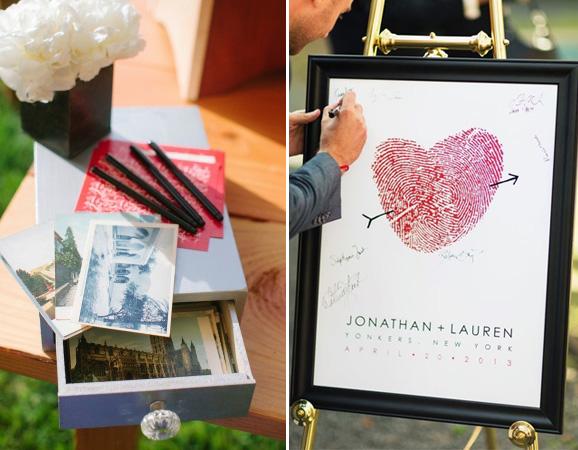 libros-de-firmas-diferentes Fotos- Marta Stewart y The Knot.