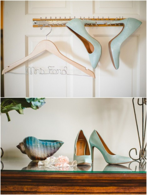 Mint Closed Toe Pumps | Photo by Richard Bell Photography
