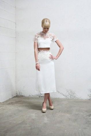 Un set de falda tubo precioso de inspiración retro te enamorará.
