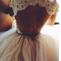 El vestido de novia con espalda descubierta