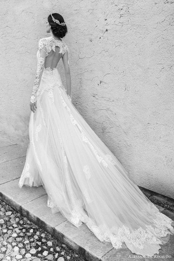 el vestido de novia con espalda descubierta – burgos nupcial