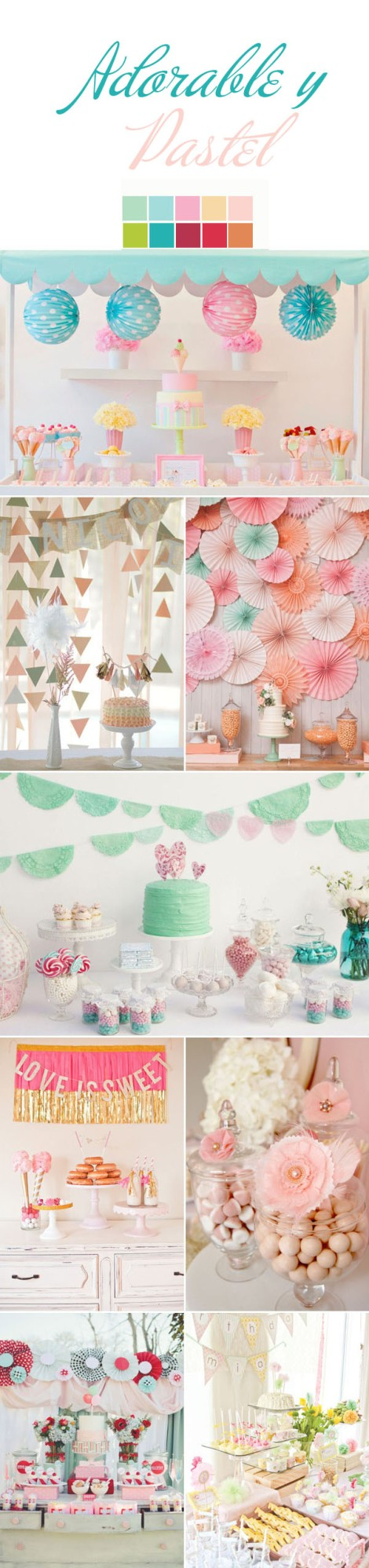 adorable-pastel-lime-pink-blush-peach-baby-blue-red-wedding-dessert-table-ideas (1)