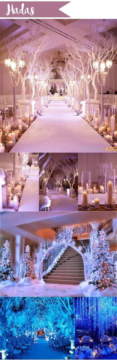 De arriba a abajo: Studio ATG/Weddbook/Colin Cowie Weddings