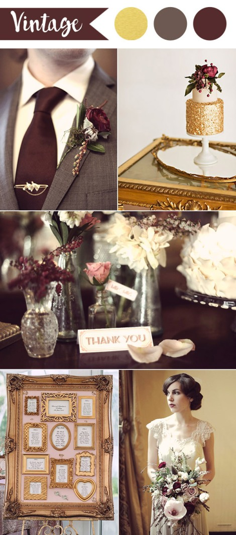 Anna Pumer Photography via Mon Cheri Bridals/Sarah McEvoy and Jenn Hadley via Chic Vintage Brides/Bowlden Photography via Burnett's Board/